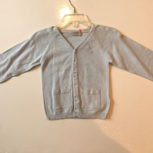 Taille Boy blue sweater